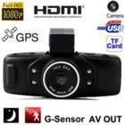מצלמה לרכב לתיעוד הנסיעה משולבת GPS וראיית לילה איכותית Baox GS5000