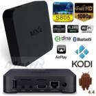 להפוך את הטלויזיה לטלויזיה חכמה SMART TV עם ANDROID TV BOX MXQ מעבד 4 ליבות מערכת הפעלה אנדרואיד 4.4