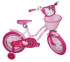 אופני הלו קיטי   לבנות כולל גלגלי עזר