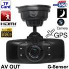 מצלמה לרכב לתיעוד הנסיעה משולבת GPS וראיית לילה איכותית Baox GS9000