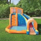 פארק מים מתנפח ביתי עם מגלשה וקיר טיפוס BESTWAY HURICANE 53303